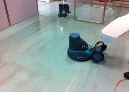 Vinyl Floor Cleaning & Stripping