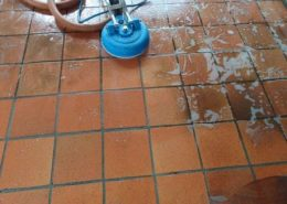Tile Cleaning Process