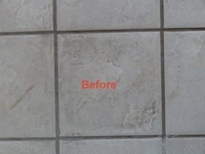 Very Dirty Tile ( Before)